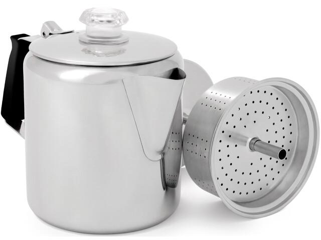 GSI Cafetera de filtro acero inoxidable - 0,9l Plateado